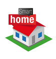 smart home - internet of things vector image