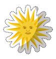 sun uruguayan emblem flag vector image vector image