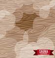 wood design vector image vector image