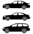 cars set 3 vector image vector image