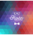 Hipster blur vector image vector image