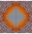 Seamless Print Tile in Arabian style vector image vector image