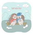 valentines day vector image