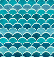 water circle seamless pattern vector image