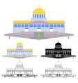 basilica divine eternal father trindade vector image vector image