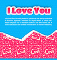 greeting lovely template vector image vector image