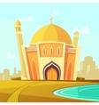 Mosque Building vector image vector image