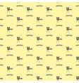 Seamless Retro Cinema Pattern vector image