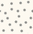 seamless retro pattern polka dot vector image vector image