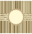 Vintage Card or package design EPS8 vector image vector image