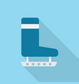 winter boots icon set of great flat icons with vector image