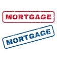 Mortgage Rubber Stamps vector image