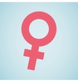 female symbol design vector image