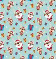 Reindeer santa Pattern vector image