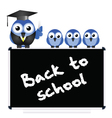 BLACKBOARD BACK TO SCHOOL vector image vector image