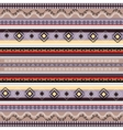Ethnic boho seamless pattern Colorful border vector image vector image