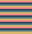horizontal pink blue gold yellow stripes seamless vector image vector image