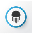jellyfish icon symbol premium quality isolated vector image
