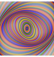 multicolored ellipse fractal art background vector image vector image