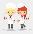 profession-cute-chef vector image