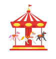 carousel icon for web vector image