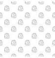 boy school bag icon outline vector image