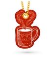 Coffee or tea cup vector image vector image