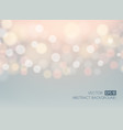 glow light bokeh background vector image