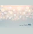 glow light bokeh background vector image vector image