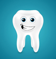 Lively smiling healthy tooth vector image