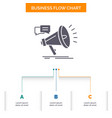marketing megaphone announcement promo promotion vector image