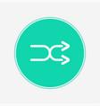 shuffle icon sign symbol vector image