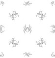 tarantum spider pattern seamless vector image