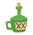 drink icon cartoon style vector image