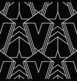 abstract art deco seamless modern star shape vector image
