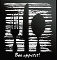 abstract restaurant design - background vector image vector image