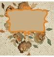 Art floral vintage colorful background EPS 8 vector image vector image