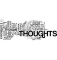 before you think that next thought text word vector image vector image