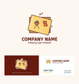 company logo design with name based on mothers day vector image