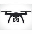 drone icon symbol design vector image