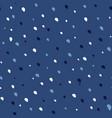 hand drawn dots pattern vector image vector image