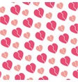 heart and love background vector image