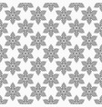seamless pattern stylized flowers geometric vector image vector image