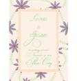 Vintage wedding invitation with torn paper banner