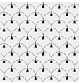 New Year minimalistic pattern vector image