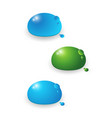 water droplets abstract vector image