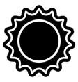 bottle cap icon vector image
