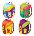 backpacks vector image