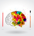 Creativity brain vector | Price: 1 Credit (USD $1)
