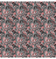 Love Valentine seamless pattern vector image